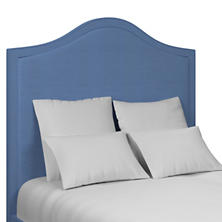 Estate Linen French Blue Westport Headboard
