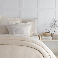 White Cap Ivory Blanket