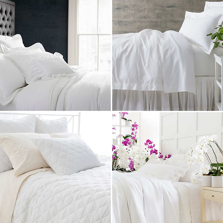 How To Add Pops Of Color To An All White Bedroom | Annie Selkeu0027s Fresh