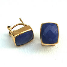 Whitten Lapis Stud Earrings