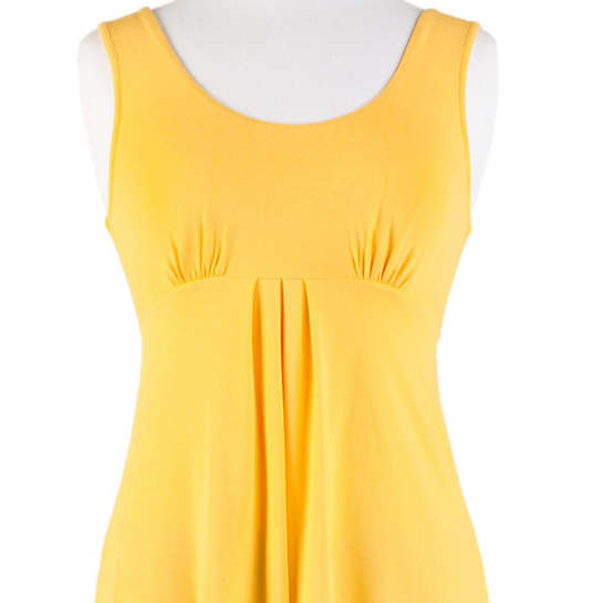 Willow Knit Empire Tank Top Daffodil