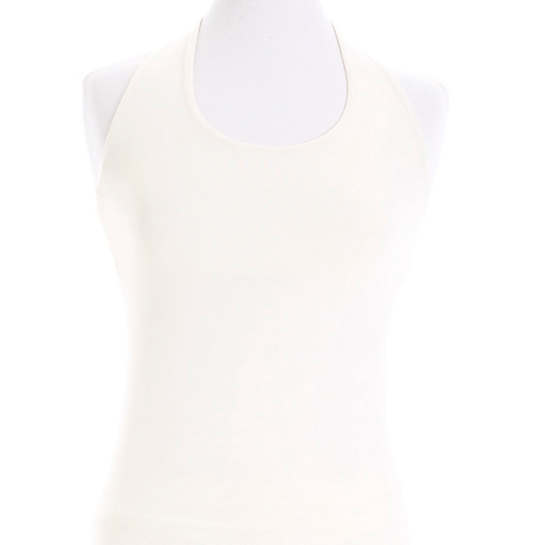 Willow Knit Ivory Halter Top