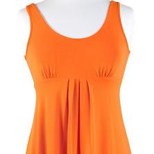 Willow Knit Mini Dress Tangerine