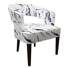 Brushstroke White Wright Chair