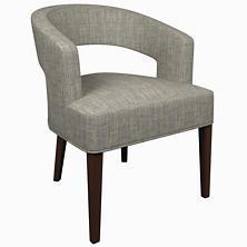 Chevron Indigo Wright Chair