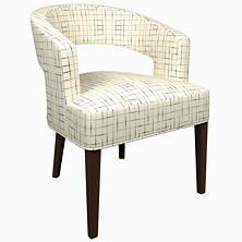 Nicholson Indigo Wright Chair