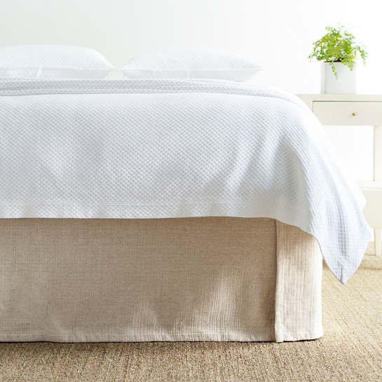 Zen Natural Bed Skirt