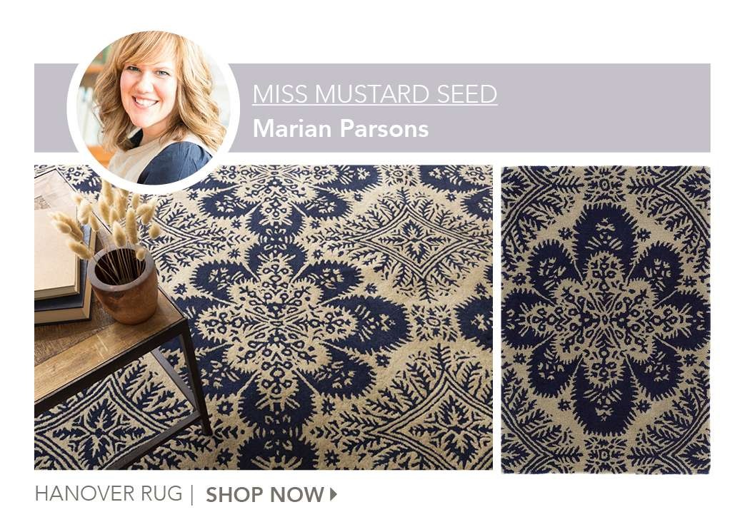 Hanover Rug by Miss Mustard Seed. Shop Now.