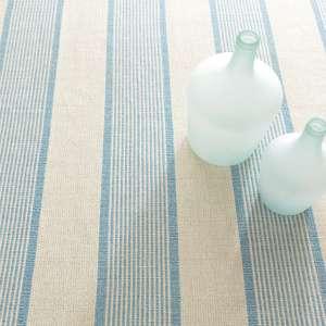 La Mirada Asiatic Blue Woven Cotton Rug