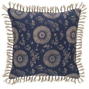 Marianna Linen Resist/Stripe Decorative Pillow