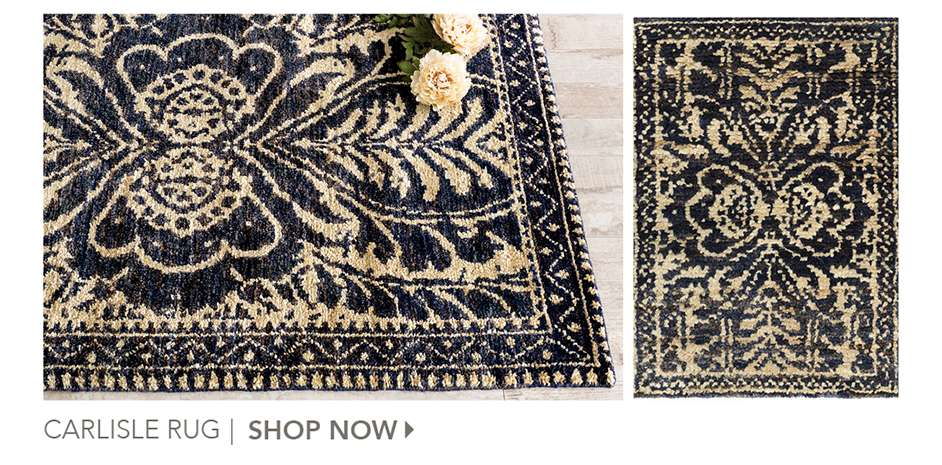 Carlisle Rug by Miss Mustard Seed. Shop Now.