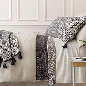 Cameo Linen Ivory Duvet Cover