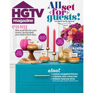 HGTV Magazine November 2019