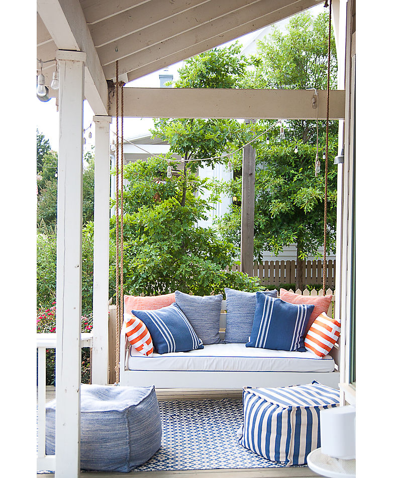 How to Decorate Outdoor Spaces | Annie Selke's Fresh American Style
