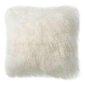 Ivory Longwool Pillow