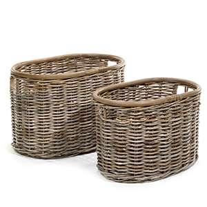 St-Jean Oval Baskets Set of 2
