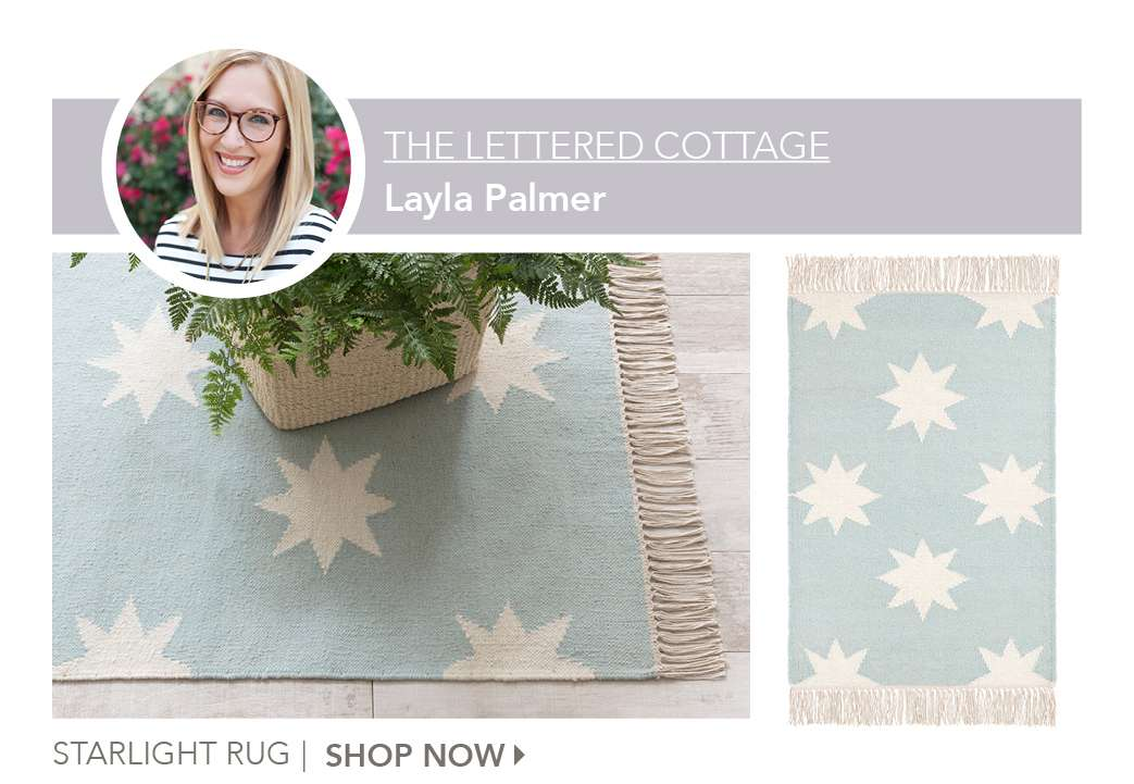 Starlight Rug by The Lettered Cottage. Shop Now.