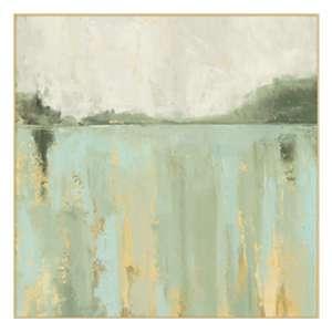 Abstract Lake Art
