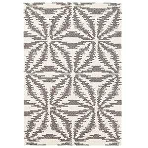 Aster Grey Micro Hooked Wool Rug