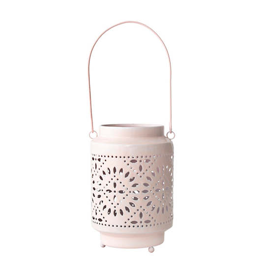 Light Pink Sunburst Lantern