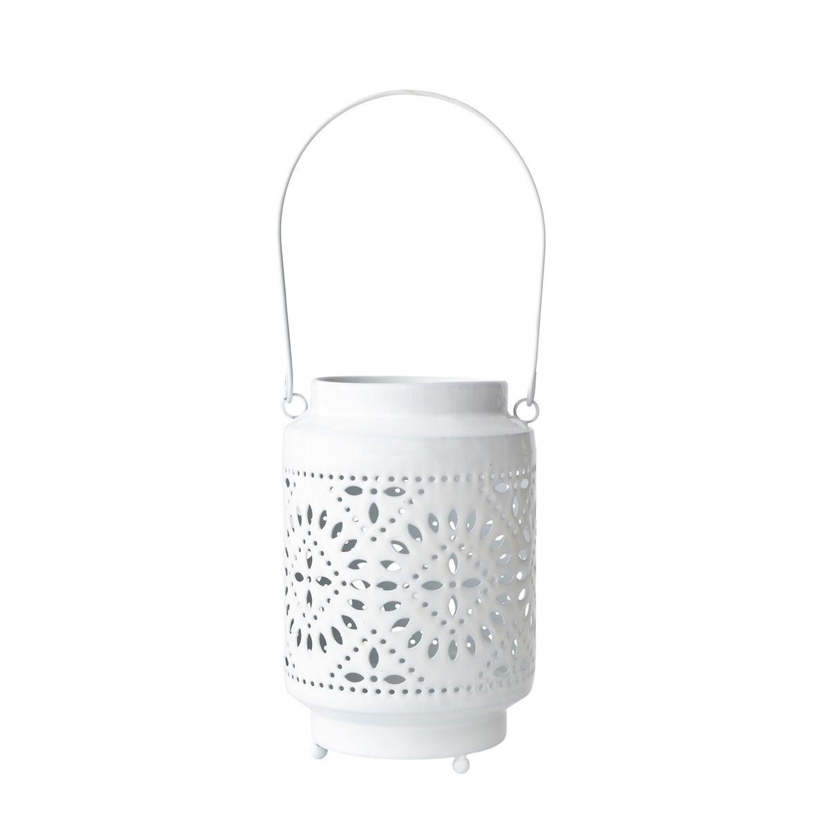 White Sunburst Lantern