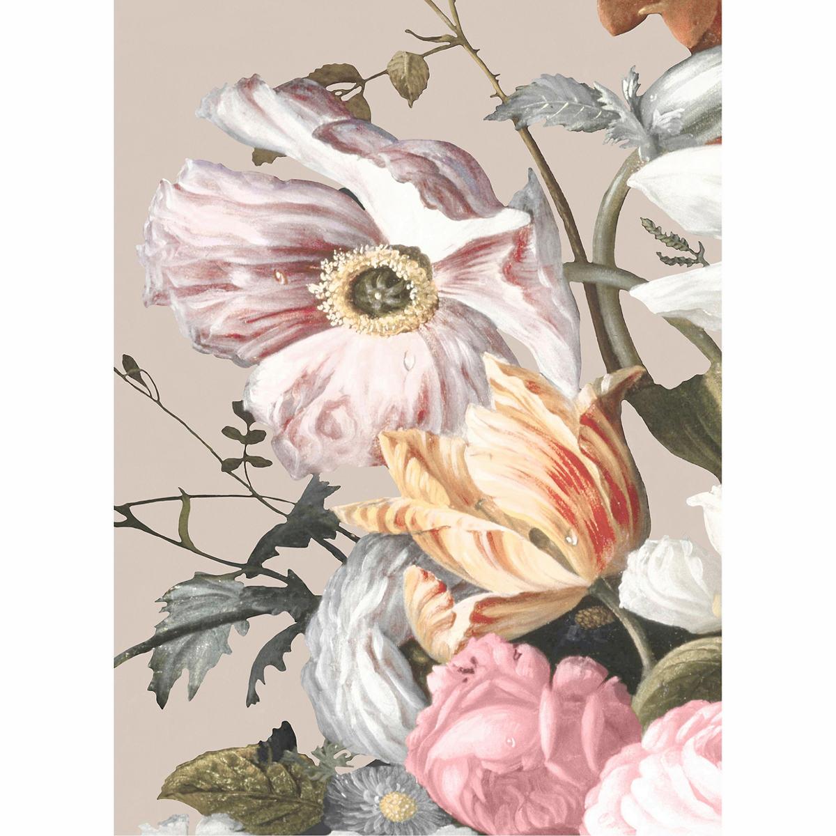 Baroque Bouquet 2 Blush Wall Art