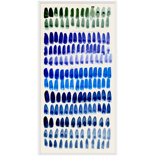 Blue Palette Wall Art