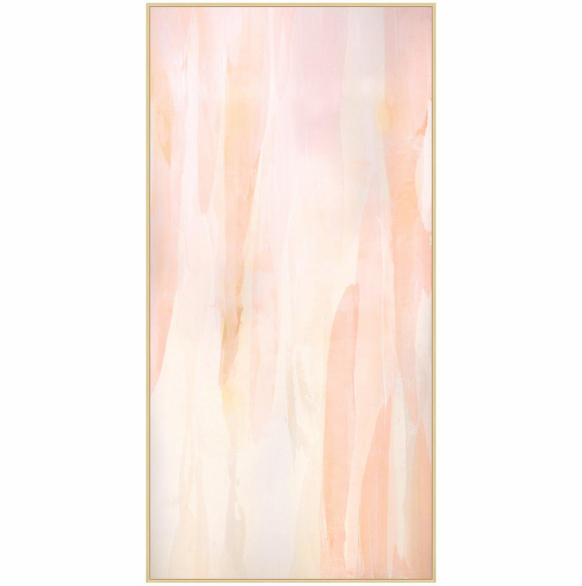 Gloss Blush 1 Wall Art