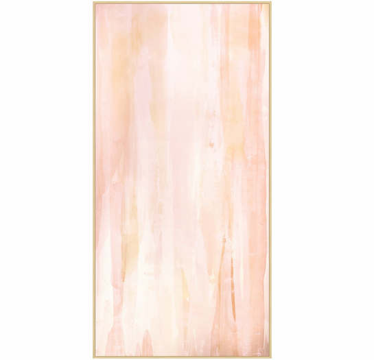 Gloss Blush 2 Wall Art