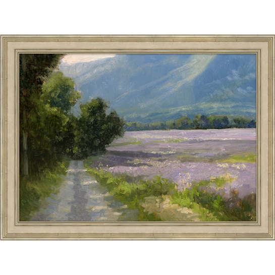 Lavender Fields Art