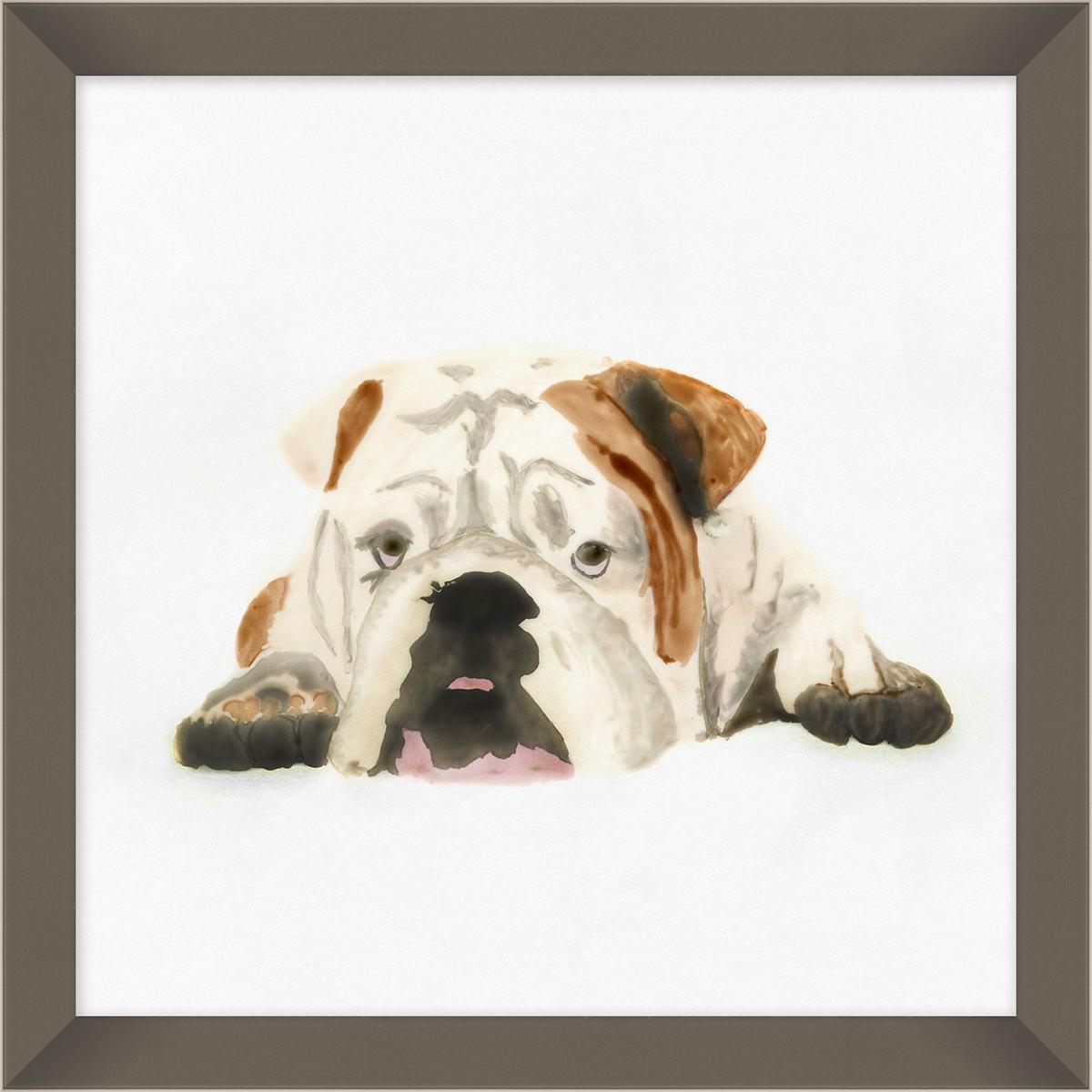 Lounging Pup Art
