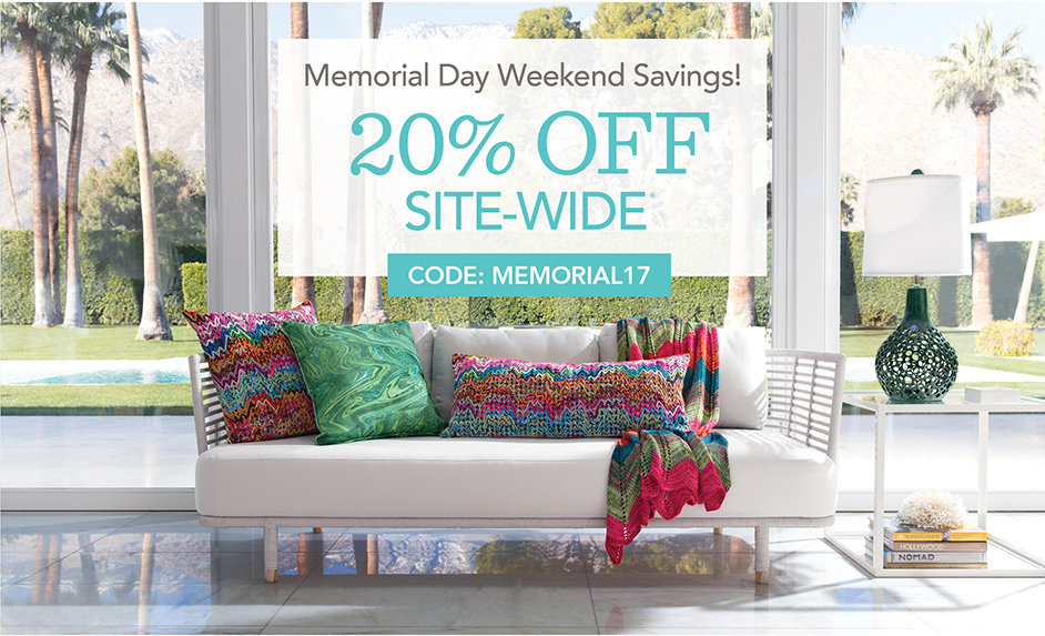Memorial Day Weekend Sale!