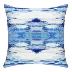 Optic Blue Indoor/Outdoor Decorative Pillow