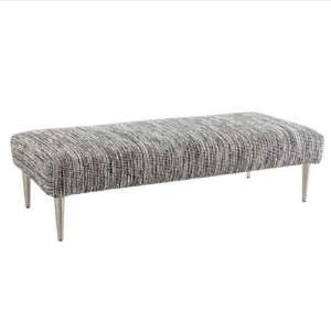 Tideline Black Performance Rug Bench