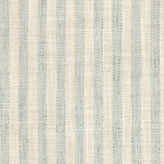 Adams Ticking Light Blue Indoor/Outdoor Fabric