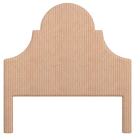 Adams Ticking Brick Montaigne Headboard