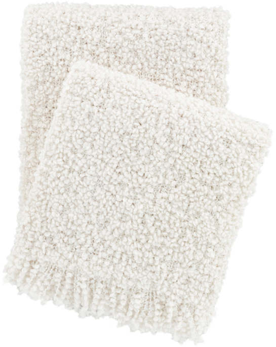 Adelle Ivory Throw