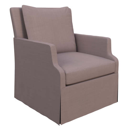 Weathered Linen Heather Aix Chair
