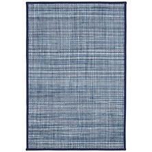 Alden Denim Indoor/Outdoor Custom Rug With Pad