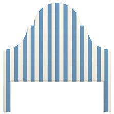 Alex French Blue Montaigne Headboard