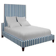 Alex French Blue Regency Bed