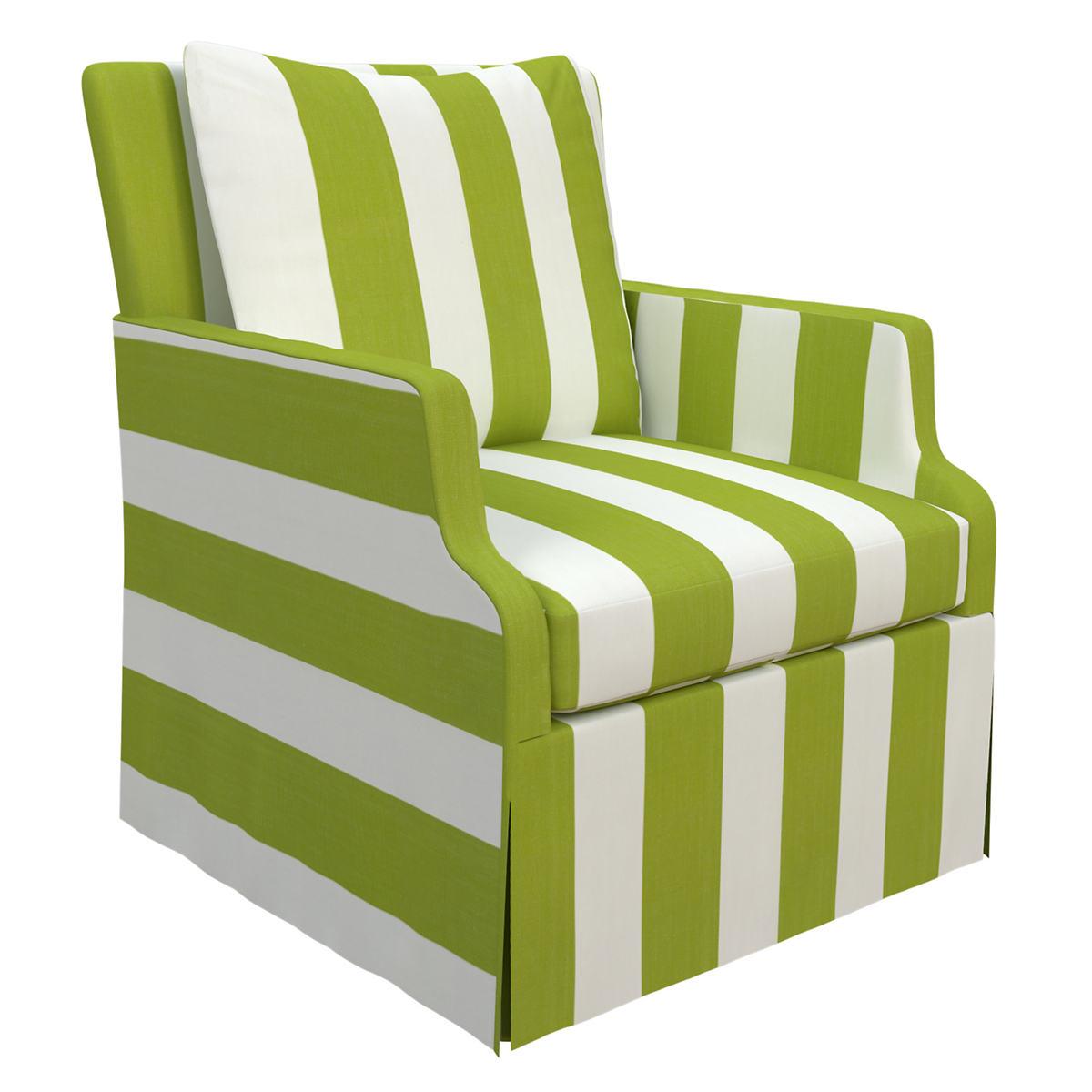 Alex Green Aix Chair