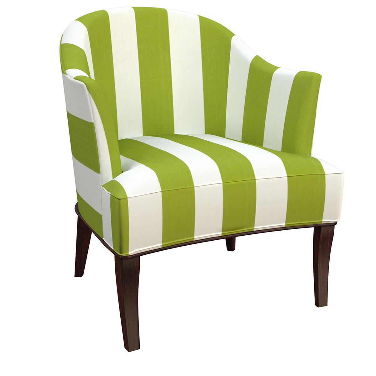 Alex Green Lyon Chair