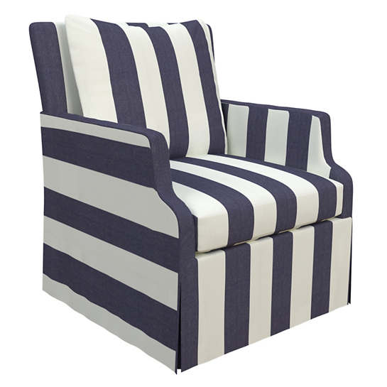 Alex Indigo Aix Chair