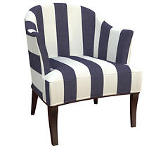 Alex Indigo Lyon Chair