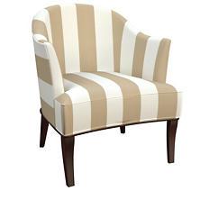 Alex Linen Lyon Chair