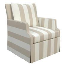 Alex Pearl Grey Aix Chair
