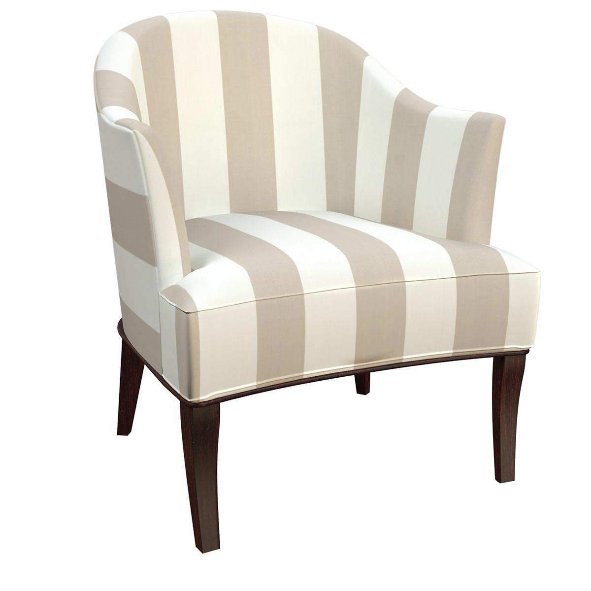 Alex Pearl Grey Lyon Chair