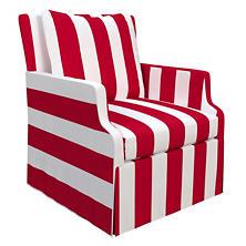 Alex Red Aix Chair
