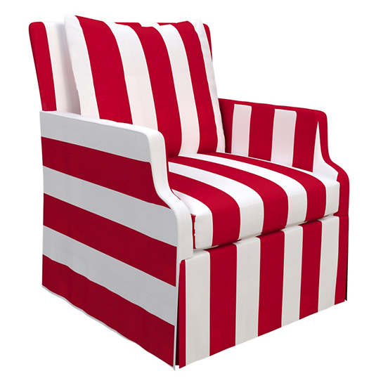Alex Red Aix Chair